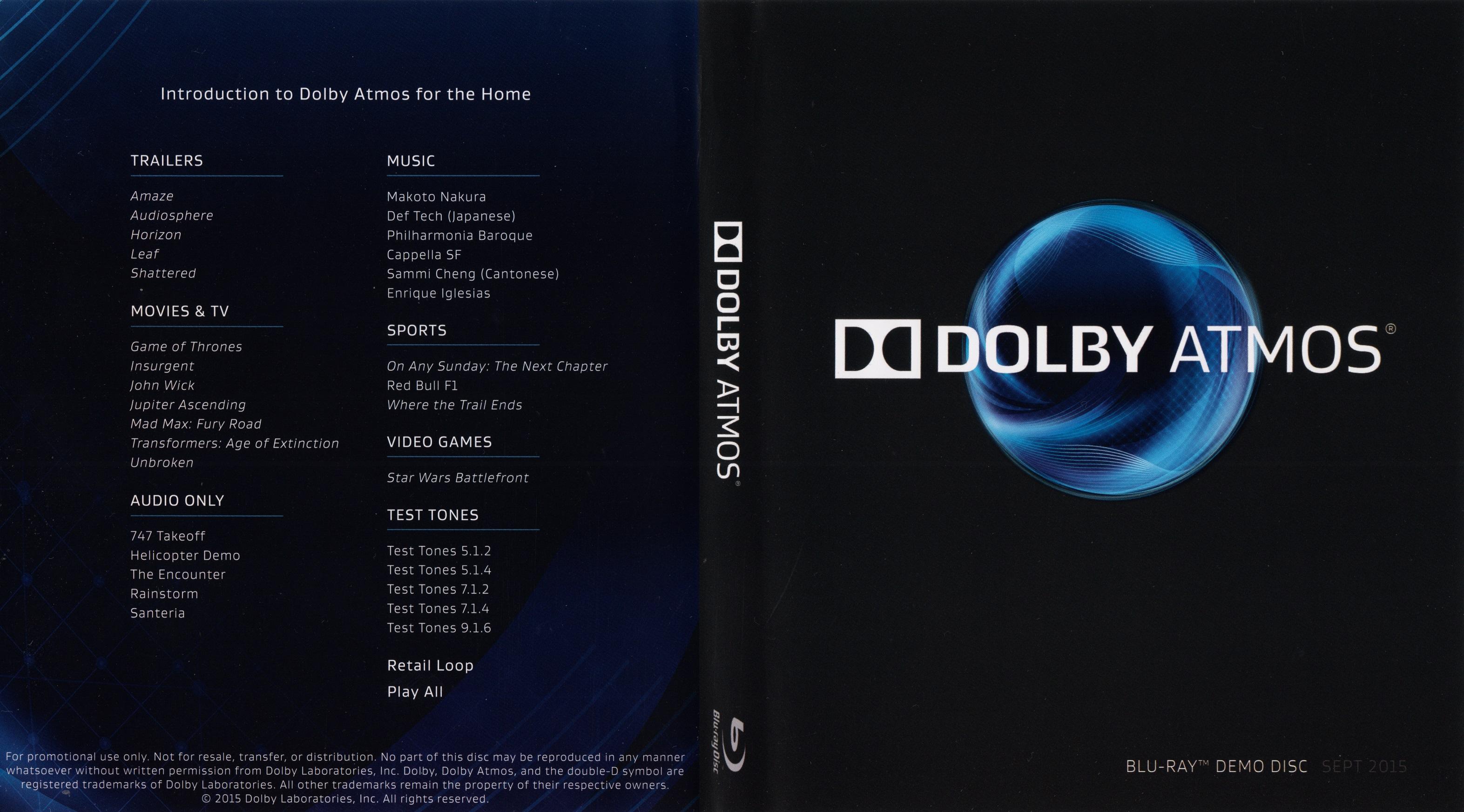auro 3d demo disc vol 1